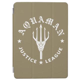 Justice League | Aquaman Retro Trident Emblem iPad Air Cover
