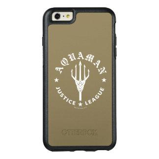 Justice League | Aquaman Retro Trident Emblem OtterBox iPhone 6/6s Plus Case