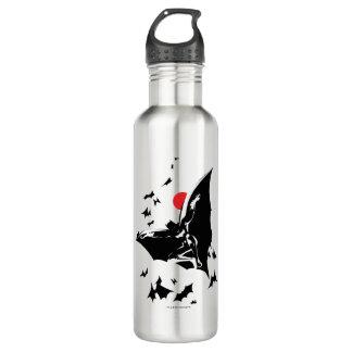 Justice League | Batman in Cloud of Bats Pop Art 710 Ml Water Bottle