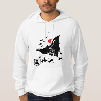 Justice League | Batman in Cloud of Bats Pop Art Hoodie