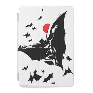 Justice League   Batman in Cloud of Bats Pop Art iPad Mini Cover