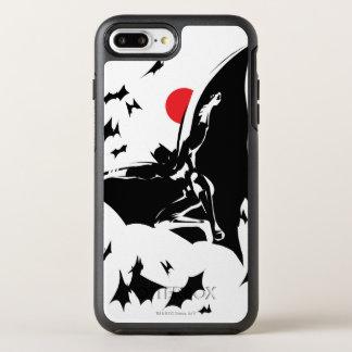 Justice League | Batman in Cloud of Bats Pop Art OtterBox Symmetry iPhone 8 Plus/7 Plus Case