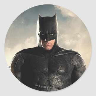 Justice League | Batman On Battlefield Classic Round Sticker