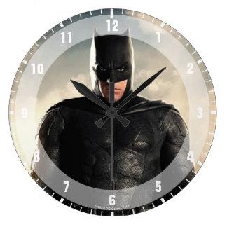 Justice League | Batman On Battlefield Large Clock
