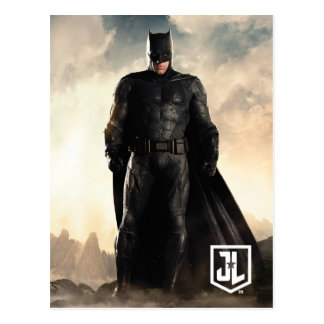 Justice League | Batman On Battlefield Postcard