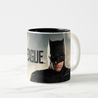 Justice League | Batman On Battlefield Two-Tone Coffee Mug