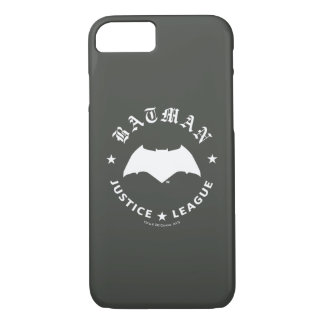 Justice League | Batman Retro Bat Emblem iPhone 8/7 Case