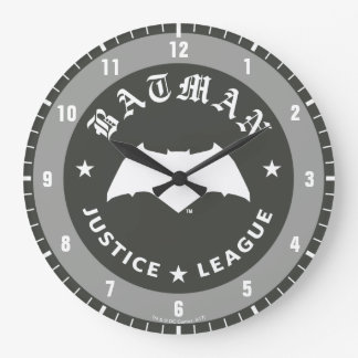 Justice League | Batman Retro Bat Emblem Large Clock