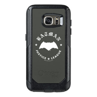 Justice League   Batman Retro Bat Emblem OtterBox Samsung Galaxy S7 Case