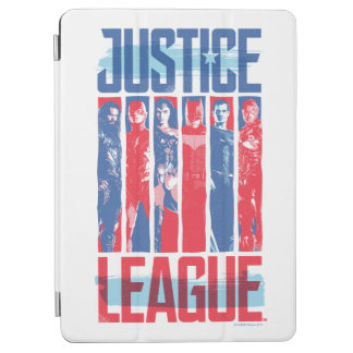 Justice League | Blue & Red Group Pop Art iPad Air Cover