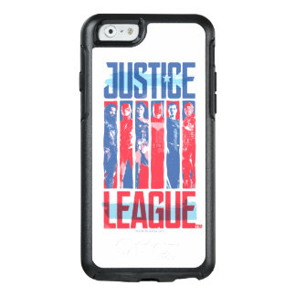 Justice League | Blue & Red Group Pop Art OtterBox iPhone 6/6s Case