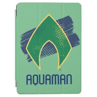 Justice League | Brush & Halftone Aquaman Symbol iPad Air Cover