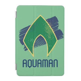 Justice League   Brush & Halftone Aquaman Symbol iPad Mini Cover
