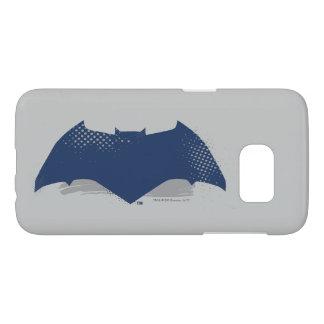 Justice League   Brush & Halftone Batman Symbol
