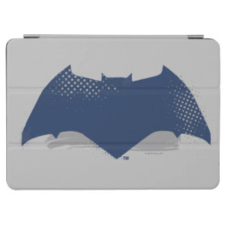 Justice League | Brush & Halftone Batman Symbol iPad Air Cover