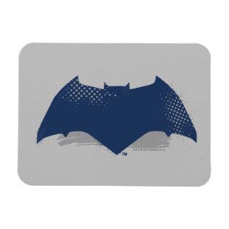 Justice League | Brush & Halftone Batman Symbol Magnet