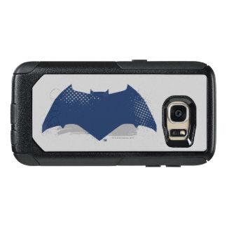 Justice League   Brush & Halftone Batman Symbol OtterBox Samsung Galaxy S7 Case