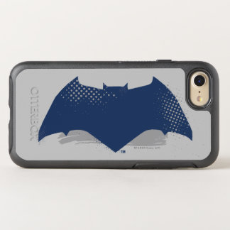 Justice League | Brush & Halftone Batman Symbol OtterBox Symmetry iPhone 8/7 Case