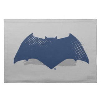 Justice League | Brush & Halftone Batman Symbol Placemat