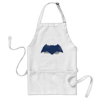 Justice League   Brush & Halftone Batman Symbol Standard Apron