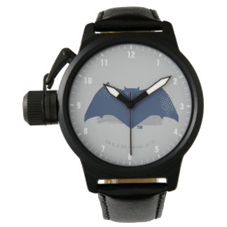 Justice League | Brush & Halftone Batman Symbol Watch