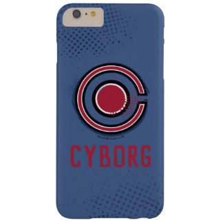 Justice League | Brush & Halftone Cyborg Symbol Barely There iPhone 6 Plus Case