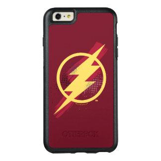 Justice League | Brush & Halftone Flash Symbol OtterBox iPhone 6/6s Plus Case