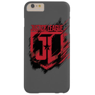 Justice League | Brushed Paint JL Shield Barely There iPhone 6 Plus Case