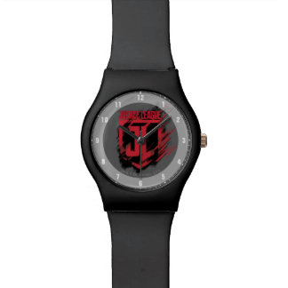 Justice League | Brushed Paint JL Shield Watch