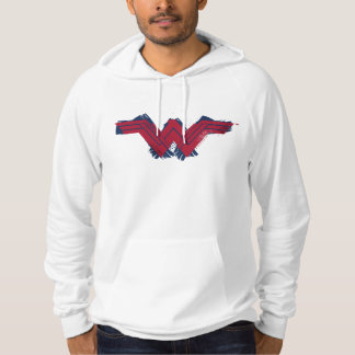 Justice League | Brushed Wonder Woman Symbol Hoodie