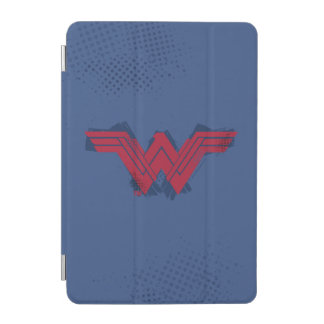 Justice League | Brushed Wonder Woman Symbol iPad Mini Cover