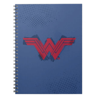 Justice League | Brushed Wonder Woman Symbol Notebook