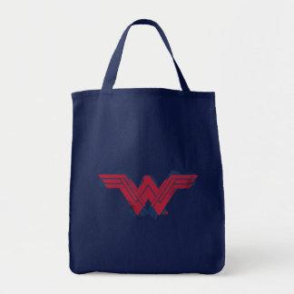 Justice League | Brushed Wonder Woman Symbol Tote Bag
