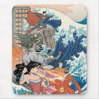 Justice League Comic Cover #15 Variant Mouse Pad