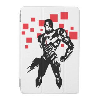 Justice League   Cyborg Digital Noir Pop Art iPad Mini Cover