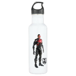 Justice League | Cyborg On Battlefield 710 Ml Water Bottle