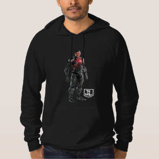 Justice League | Cyborg On Battlefield Hoodie