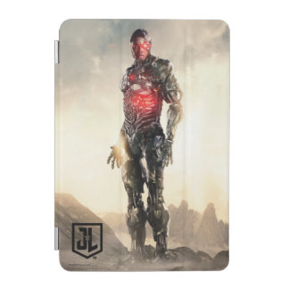 Justice League | Cyborg On Battlefield iPad Mini Cover