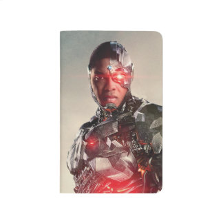 Justice League | Cyborg On Battlefield Journal