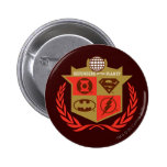 Justice League Defenders of the Planet 6 Cm Round Badge