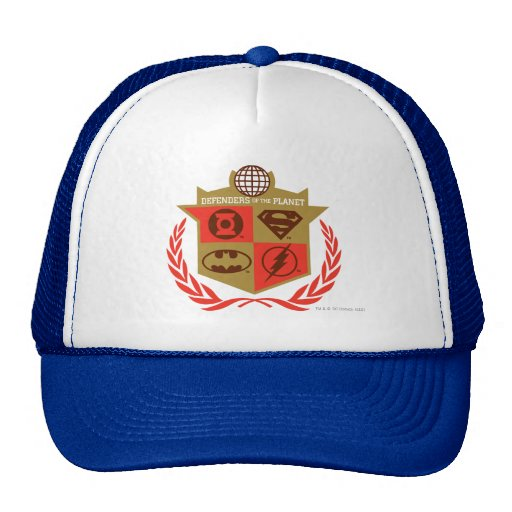 Justice League Defenders of the Planet Trucker Hat