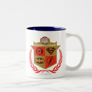 Justice League Defenders of the Planet Two-Tone Mug