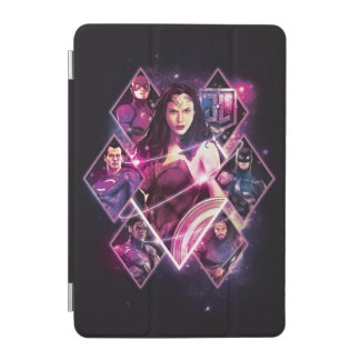 Justice League | Diamond Galactic Group Panels iPad Mini Cover