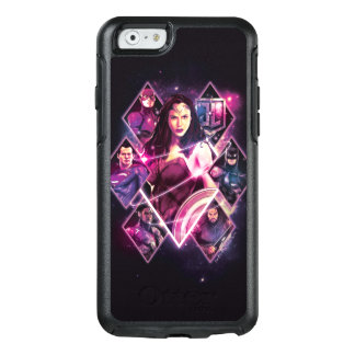 Justice League   Diamond Galactic Group Panels OtterBox iPhone 6/6s Case