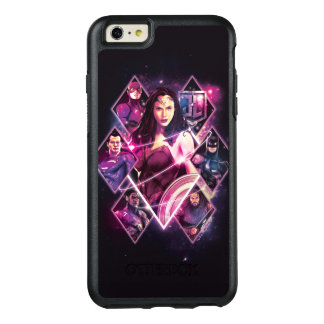 Justice League | Diamond Galactic Group Panels OtterBox iPhone 6/6s Plus Case