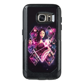 Justice League | Diamond Galactic Group Panels OtterBox Samsung Galaxy S7 Case
