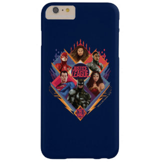 Justice League | Diamond Hatch Group Badge Barely There iPhone 6 Plus Case