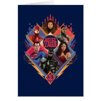 Justice League | Diamond Hatch Group Badge Card