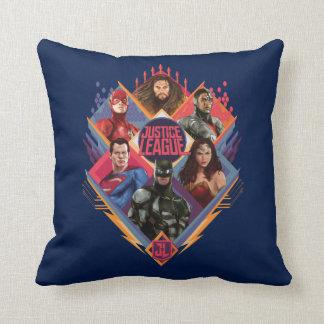Justice League | Diamond Hatch Group Badge Cushion