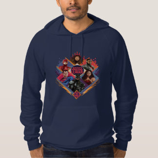 Justice League | Diamond Hatch Group Badge Hoodie